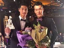 超模郝允祥荣获2014年度最佳职业模特