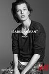 Isabel Marant与H&M联名系列广告