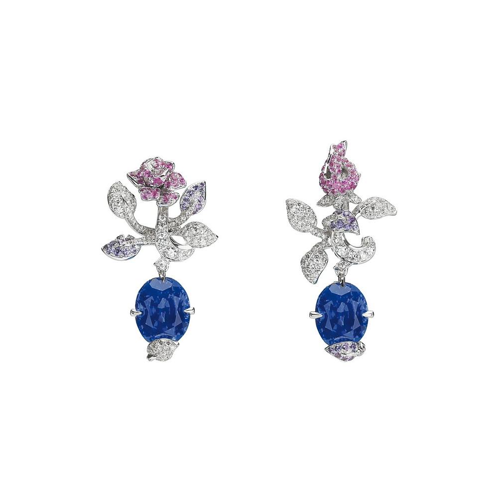 Dior高级珠宝PRECIEUSES ROSE祖母绿项链高清图片