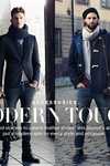 RJ ROGENSKI & ANDRE FEULNER代言H&M 2013冬季男装配饰Lookbook
