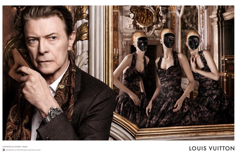 "David Bowie&Arizona Muse 演绎 Louis Vuitton ""L'Invitation Au Voyage(旅程之约)广告高清图片"