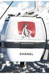 Karl Lagerfeld创意Chanel雪地缆车