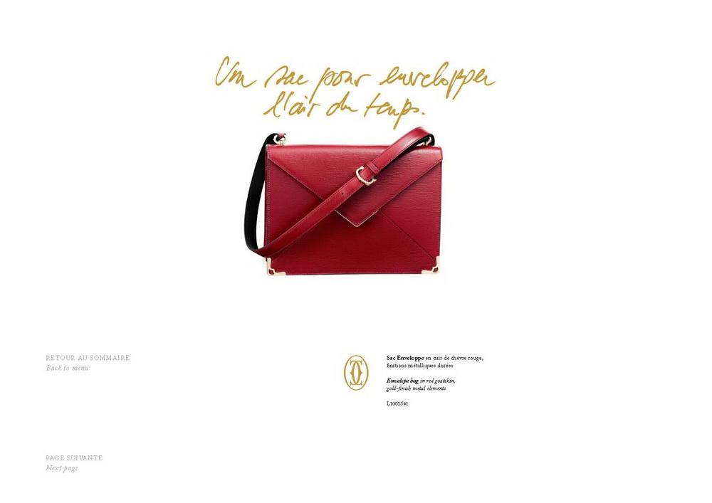 Cartier Accessories 2013 LOOK BOOK