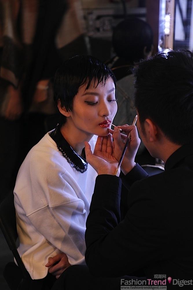 春夏 高级/Dior 2013春夏高级订制秀后台
