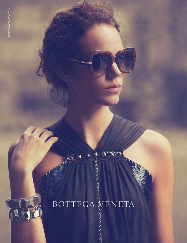 Bottega Veneta  2013春夏眼镜广告高清图片