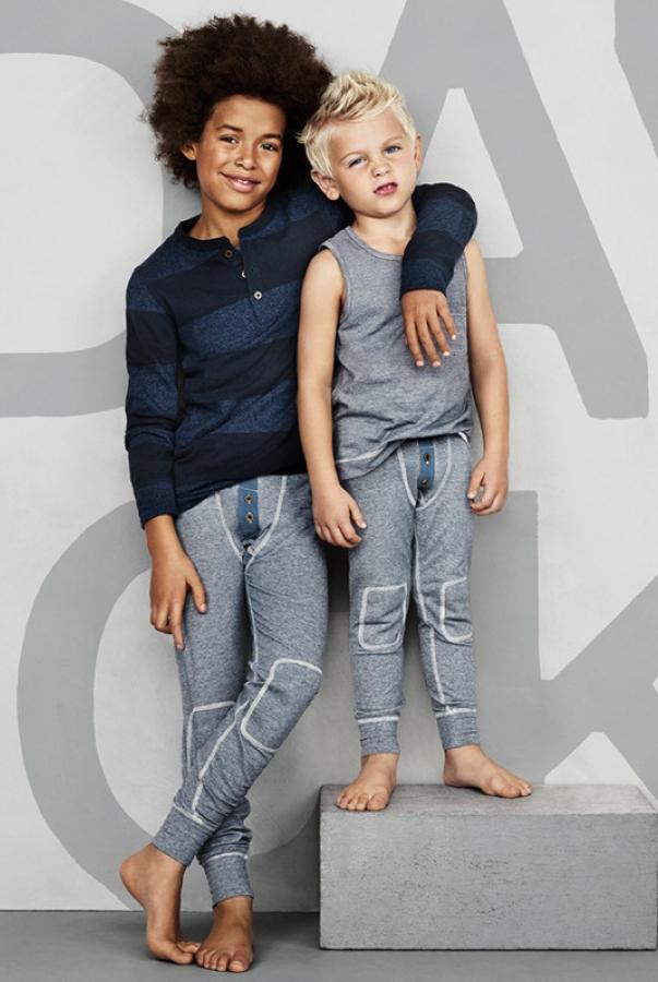 H&M将推出BECKHAM BODYWEAR童装版!