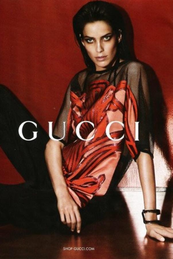 Gucci 2014春夏女装广告