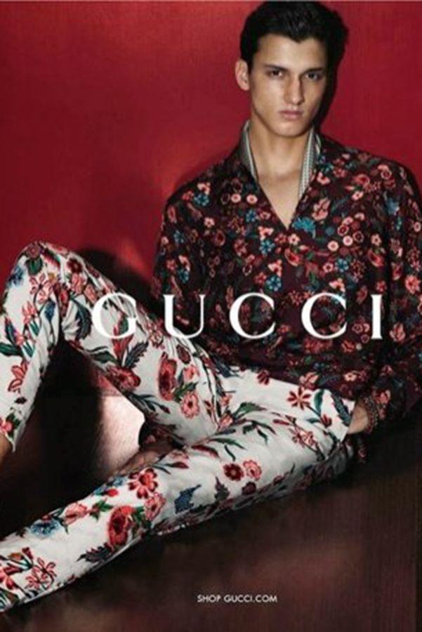 Gucci  2014春夏男装广告