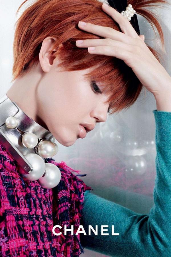 Chanel 2014春夏广告
