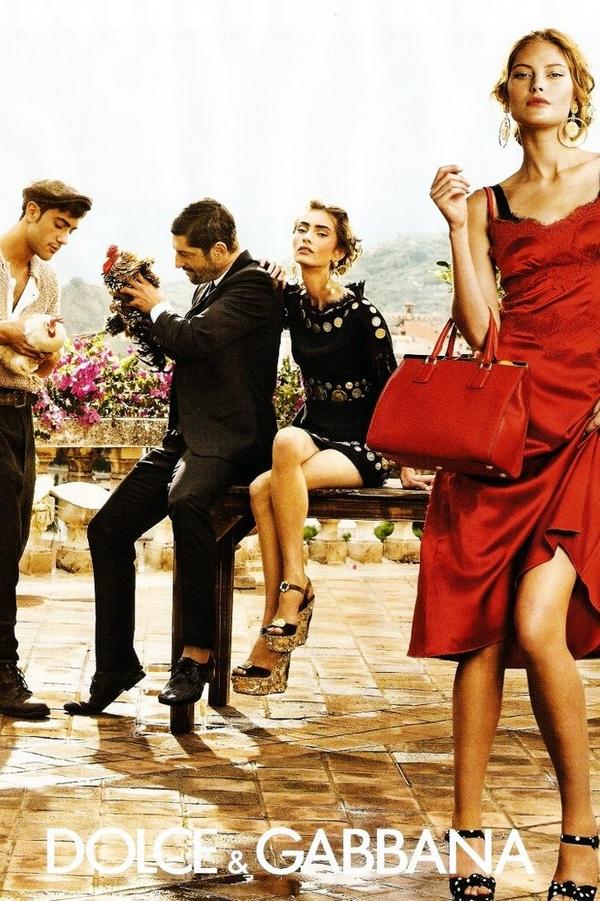 Dolce & Gabbana 2014春夏�V告