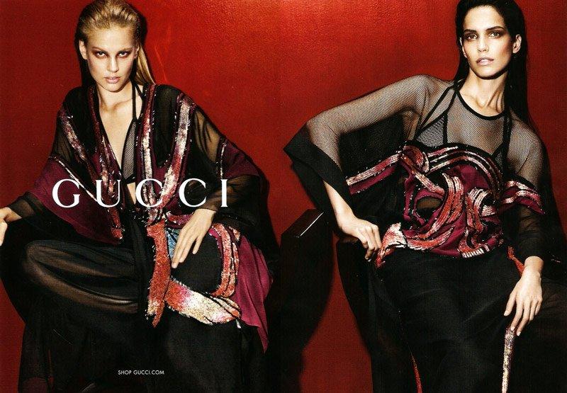 Gucci 2014春夏女装广告高清图片