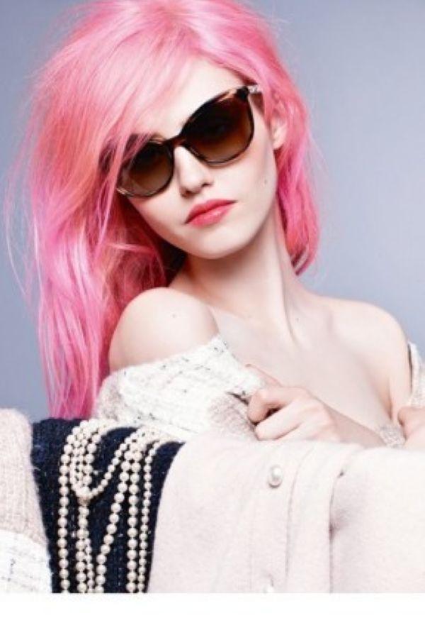 Chanel 2014秋冬系列眼镜广告
