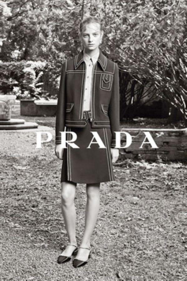 Prada 2015早春系列广告
