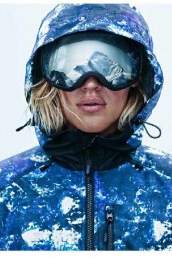 "H&M 2014秋冬""Go Skiing""运动系列"