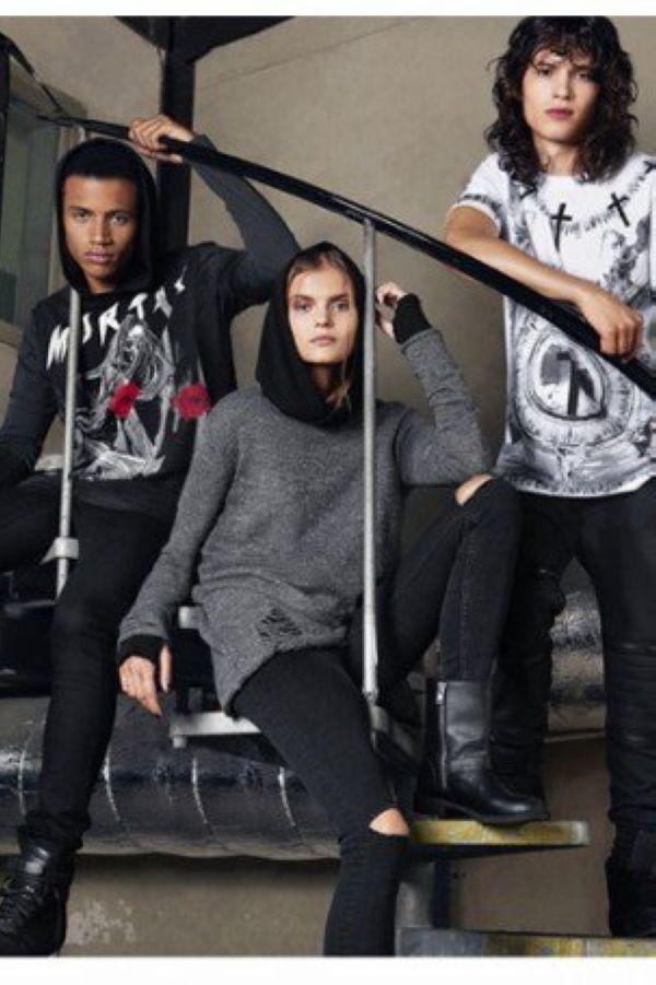 H&M Divided系列展现Grunge摇滚风格