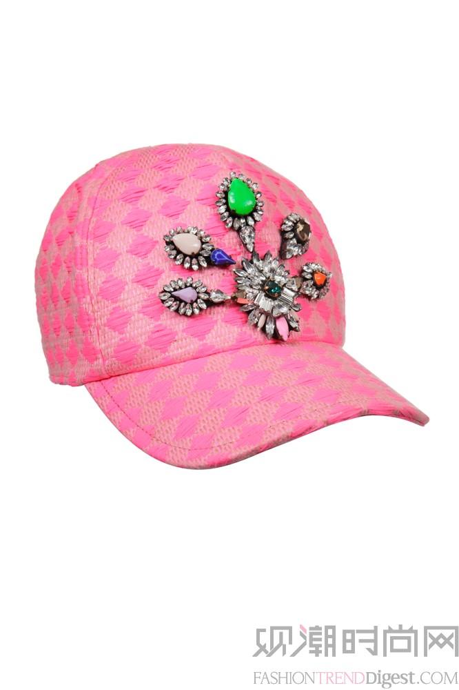 心形图案帽子编织图解