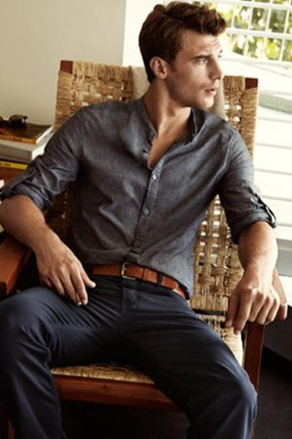 法国性感男模Clement Chabernaud为H&M拍摄2014春季系列广告