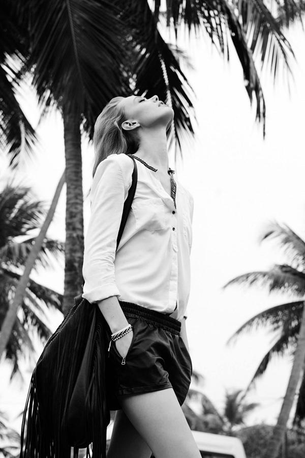 Frida Gustavsson演绎 Reserved 2014春夏系列广告