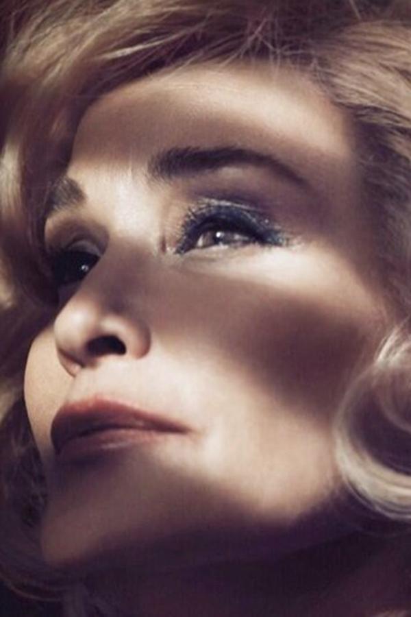 64岁女演员Jessica Lange代言Marc Jacobs Beauty广告