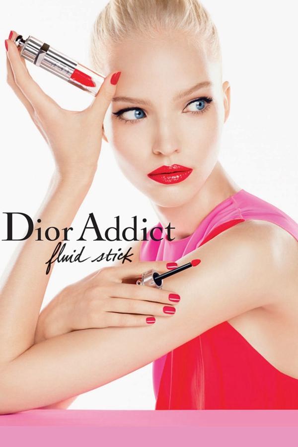 Sasha Luss代言Dior Addict系列2014春夏广告