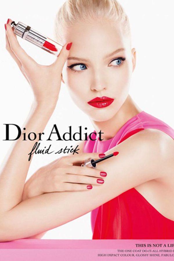 Dior魅惑唇彩广告