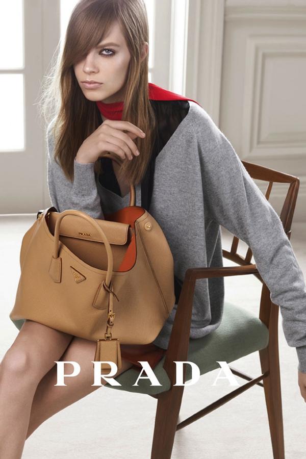 Lexi Bolling优雅出镜PRADA 2014最新广告大片