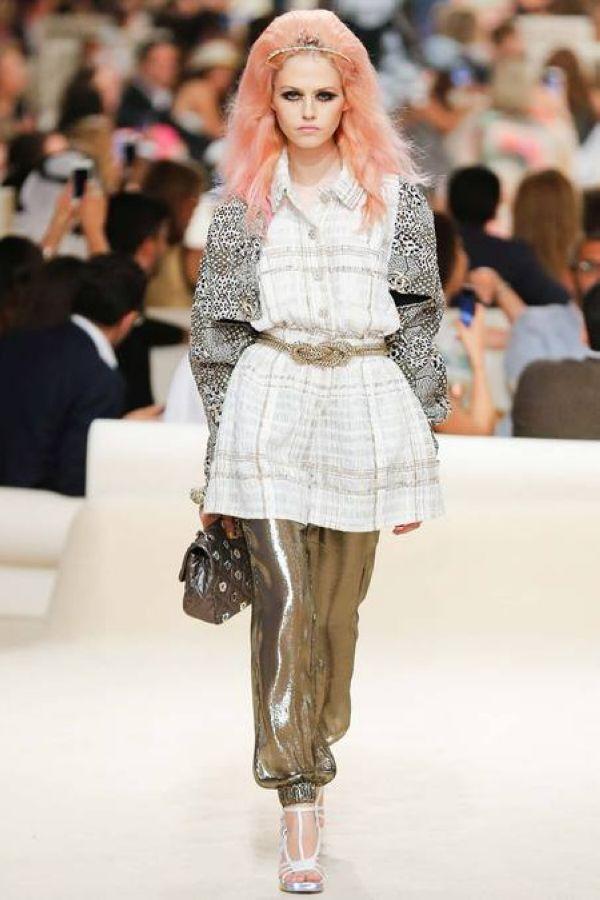 Chanel 2015早春系列秀场