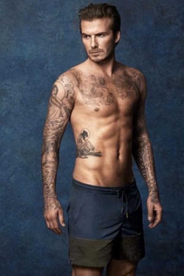 David Beckham与H&M合作款泳裤推出