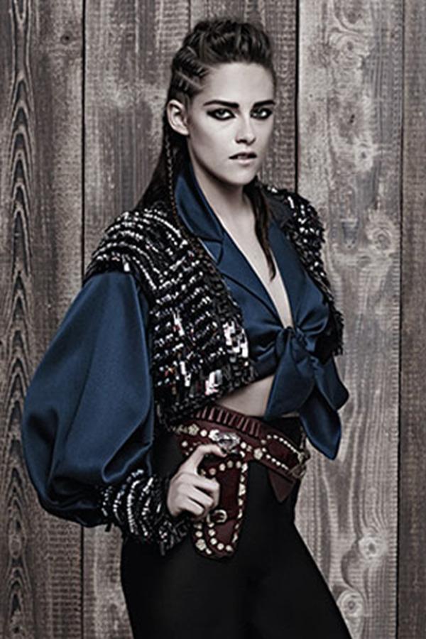 Kristen Stewart代言CHANEL Metiers d'Art巴黎-达拉斯系列广告