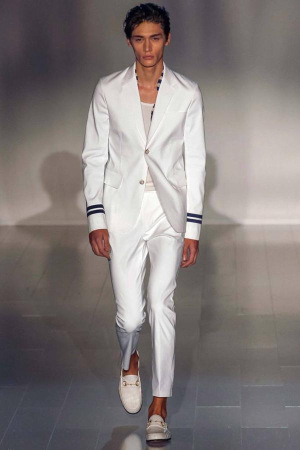 Gucci 2015春夏米兰男装周秀场―不羁与优雅的双重魅力