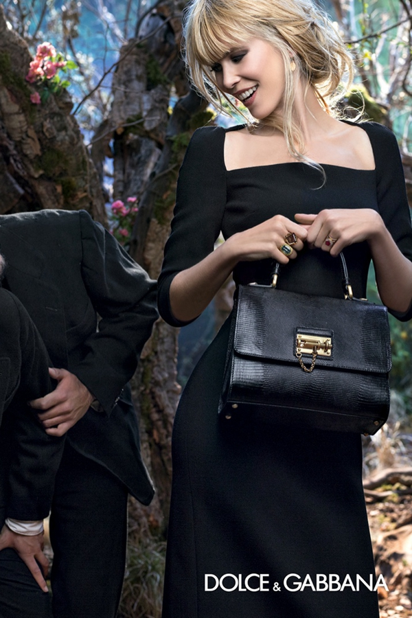 Dolce & Gabbana 2014秋冬女�b�V告