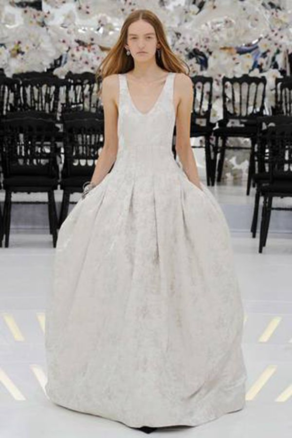 Christian Dior 2014秋冬巴黎时装周高定秀场