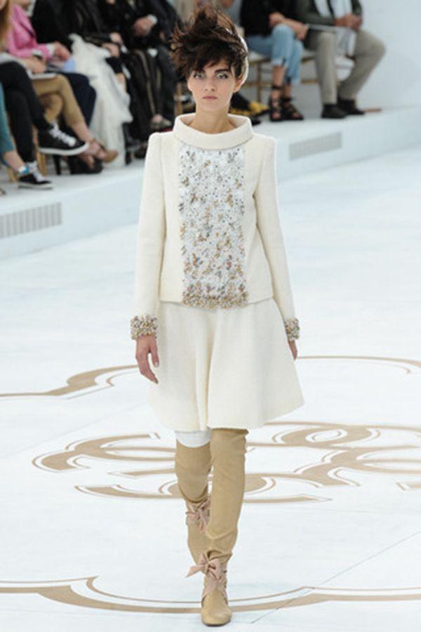 Chanel 2014秋冬巴黎时装周高定秀场