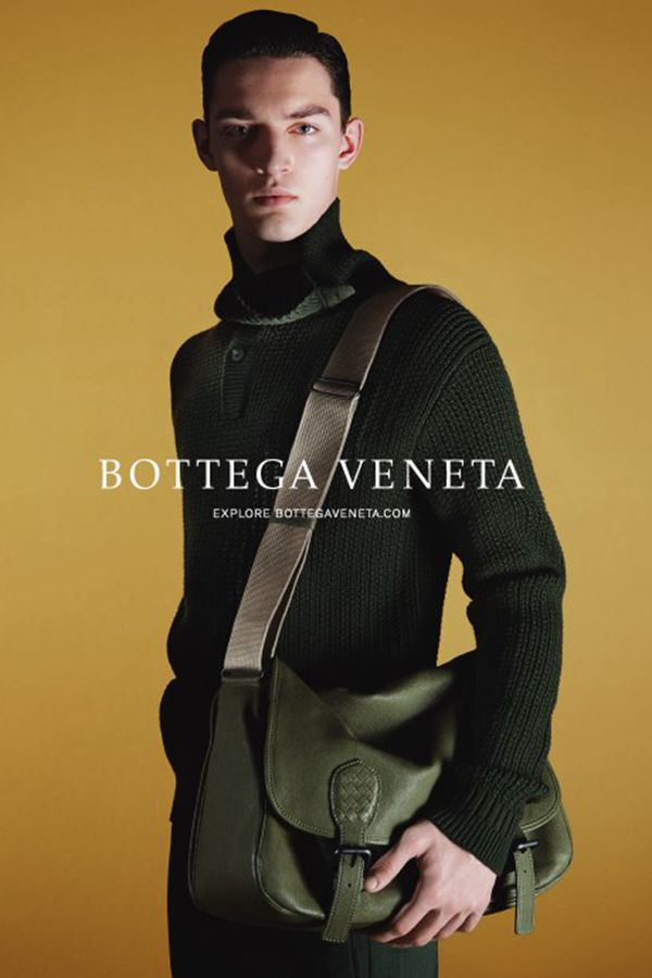 Otto Lotz出镜 Bottega Veneta  2014秋冬广告大片