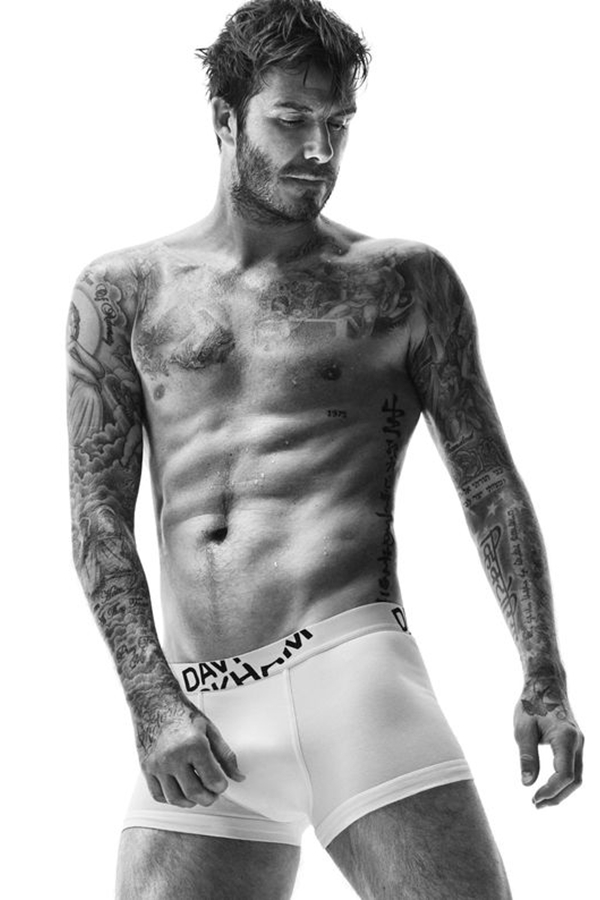 David Beckham for H&M 2014秋冬内衣Lookbook