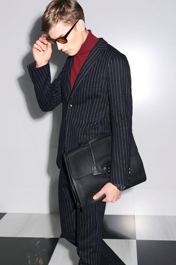 Gucci 2014 秋冬系列男装looklook