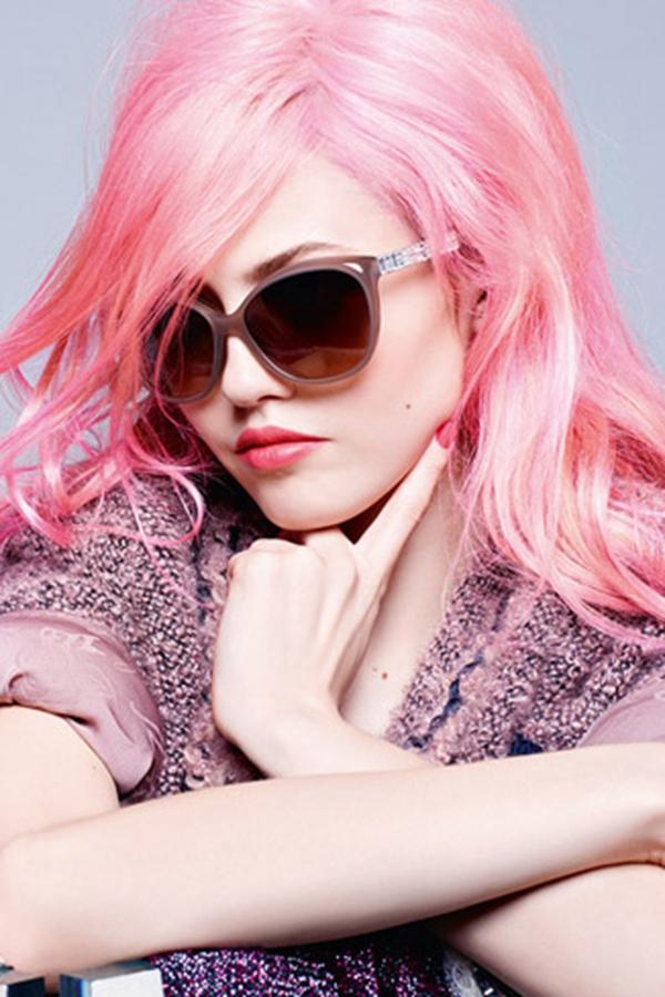 Charlotte Free代言Chanel 2014秋冬眼镜广告