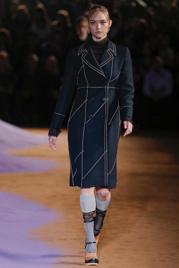 Prada 2015春夏米兰时装周秀场