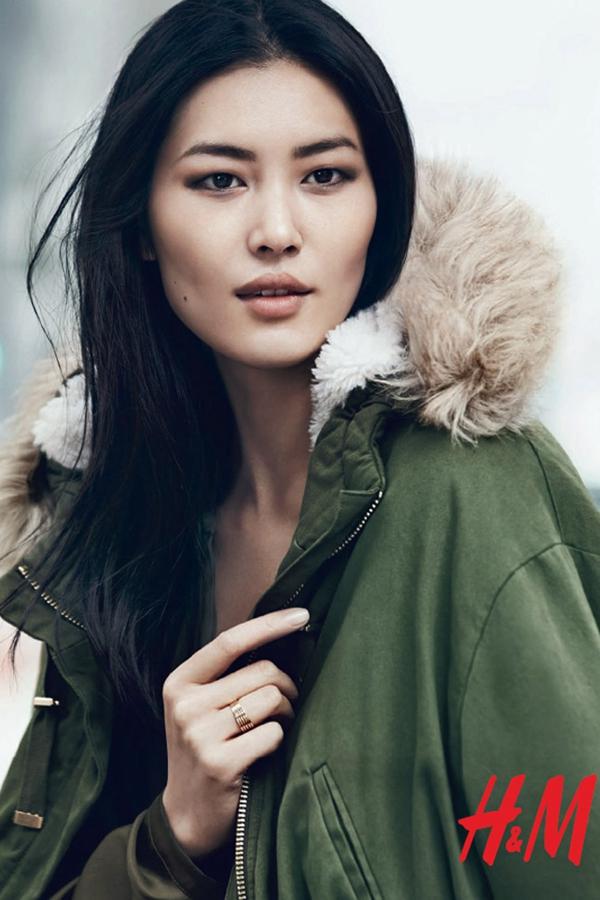 超模刘雯担纲演绎品牌H&M 2014秋冬女装广告