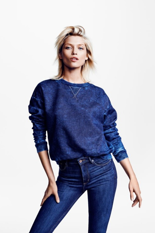 H&M 2014 Conscious Denim系列广告大片