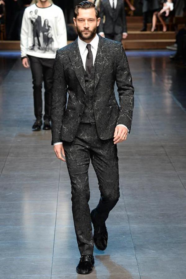 Dolce & Gabbana 2015秋冬男装系列秀场