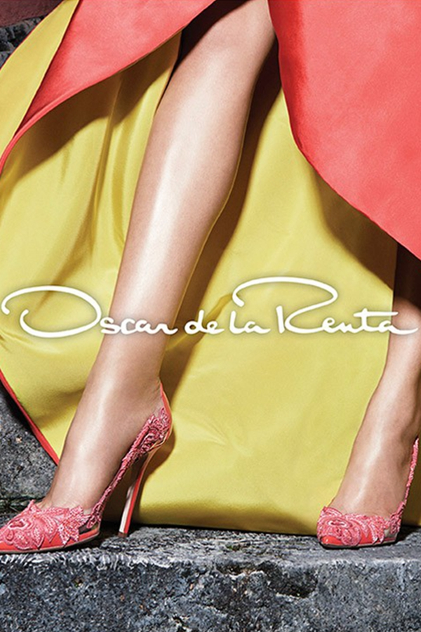 Daria Strokous & Sasha Luss 代言Oscar de la Renta 2015春夏广告