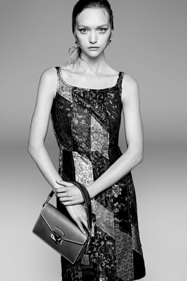 Gemma Ward拍摄Prada 2015春夏系列广告