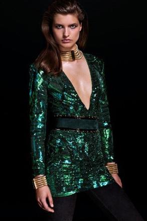 Balmain x H&M最新女装系列looklook
