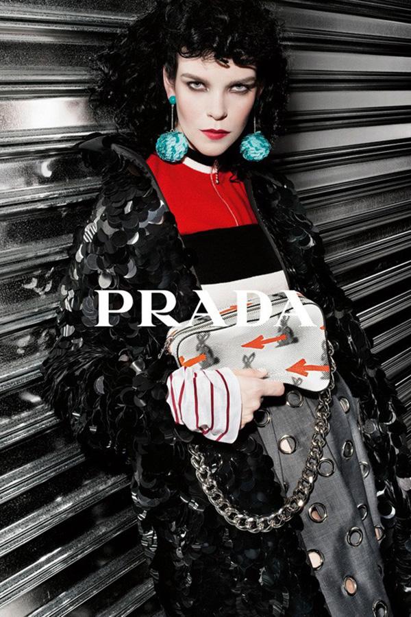 Prada 2016早春系列广告
