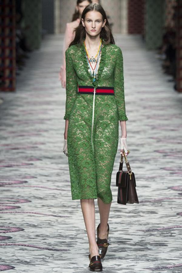 Gucci 2016春夏系列米兰时装周