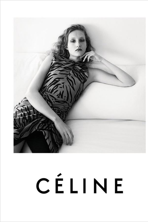 Celine 2016早春系列广告大片释出