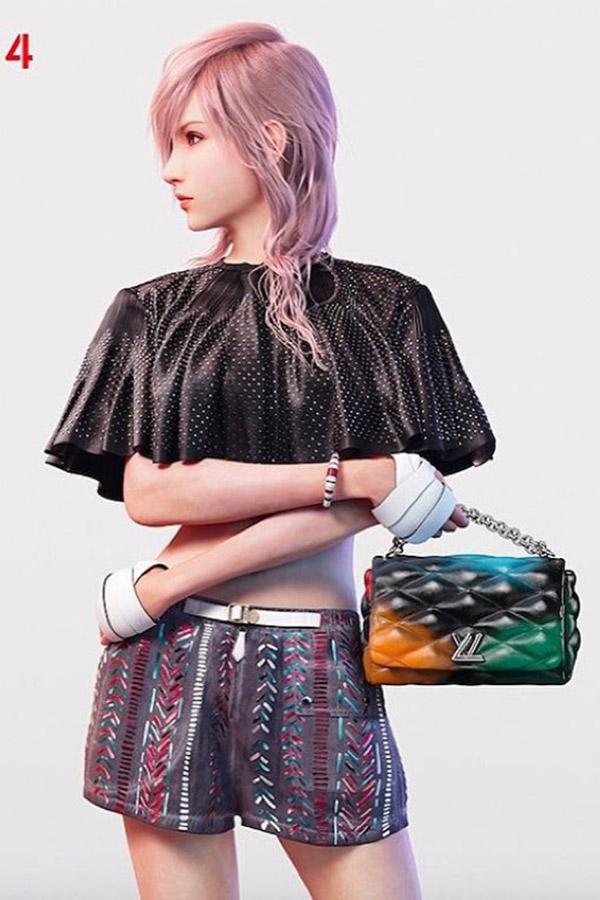 Louis Vuittonx Final Fantasy 2016春夏系列广告大片释出