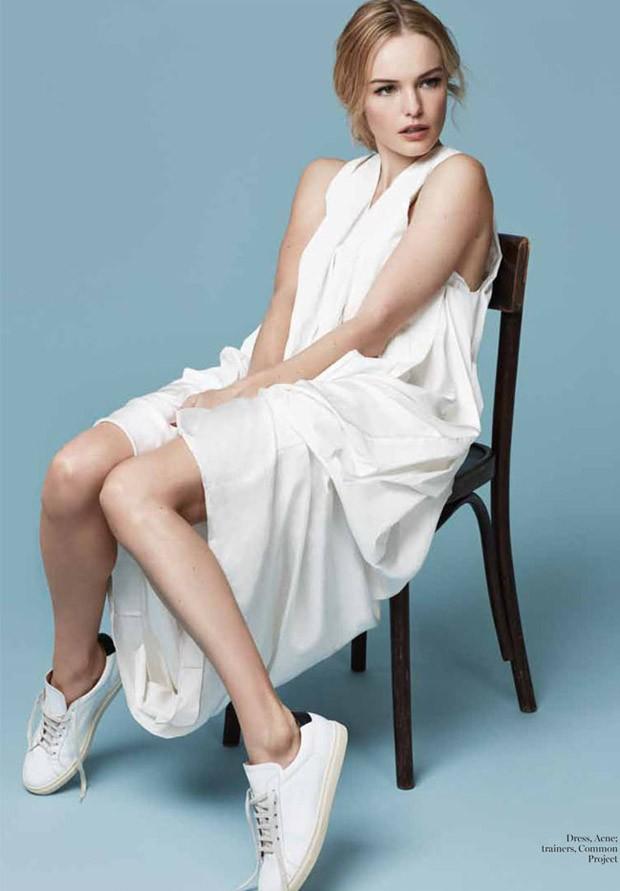 Kate Bosworth登上英国版《Marie Claire》封面并拍摄内页大片高清图片