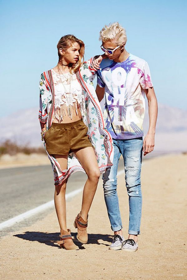 "H&M 2015春夏""Love Coachella""系列Lookbook"